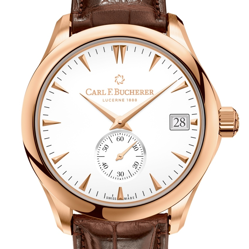 CARL F. BUCHERER Manero Peripheral watch