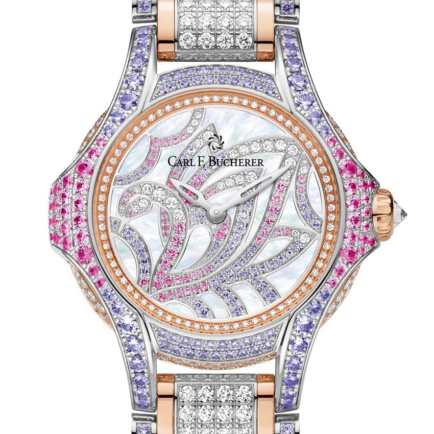 CARL F. BUCHERER Pathos Swan jewelry watch for Baselworld 2016