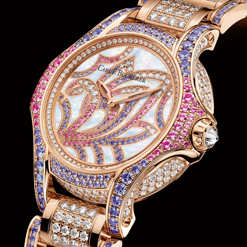 CARL F. BUCHERER Pathos Swan jewelry watch