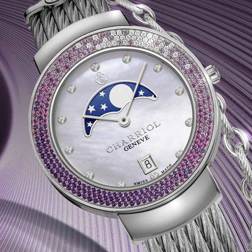 CHARRIOL ST-TROPEZ 35 GLAMMOON watch