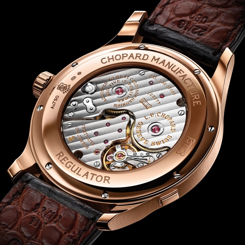 CHOPARD L.U.C Regulator watch-