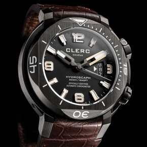 CLERC H1 Chronometer - a high-tech luxury diver's watch to delight deep-sea adventurers