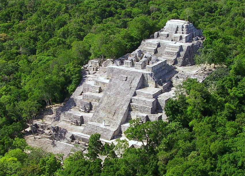 Calakmul Mexico historic sites