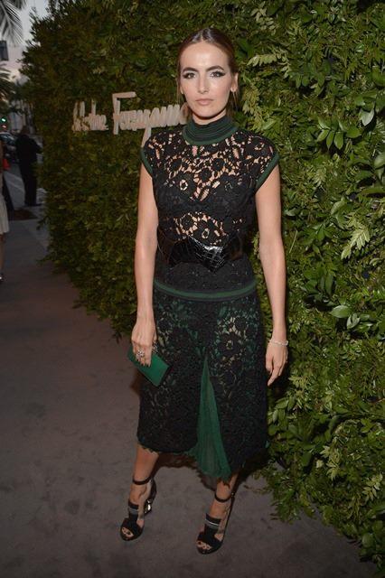 Camilla Belle wears Ferragamo in Beverly Hills