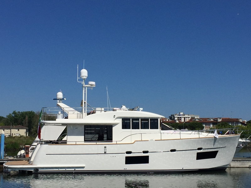 Cantieri Estensi relaunches with 17 meters 535 Maine -