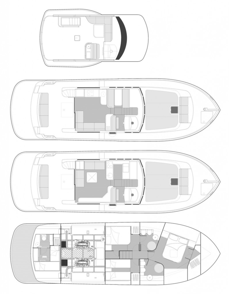 Cantieri Estensi relaunches with 17 meters 535 Maine -_general-plan