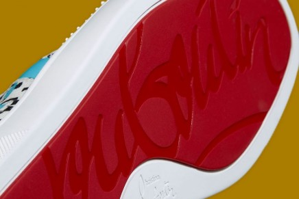 Christian Louboutin launches collectible sneakers with the signature red sole