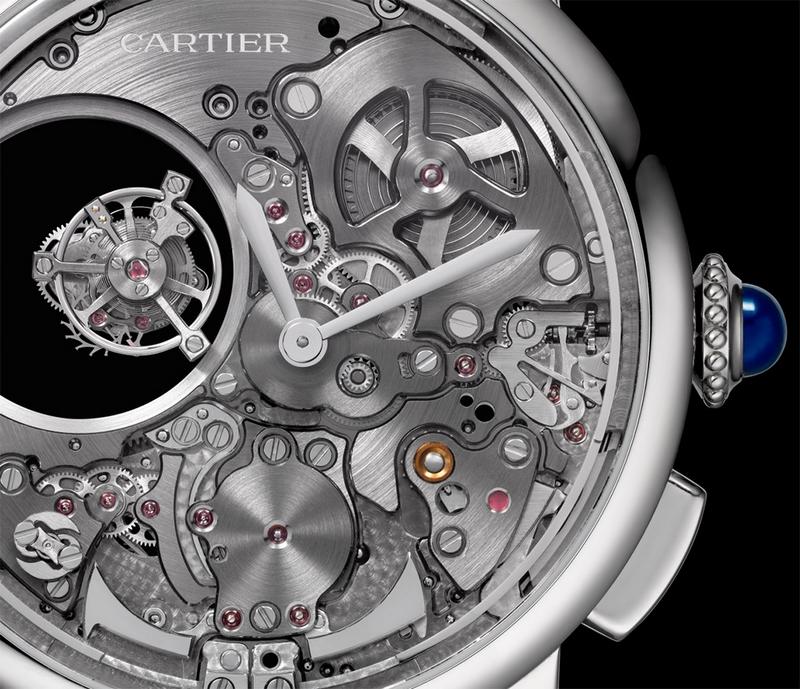 Cartier Rotonde De Cartier Minute Repeater Mysterious Double Tourbillon Watch