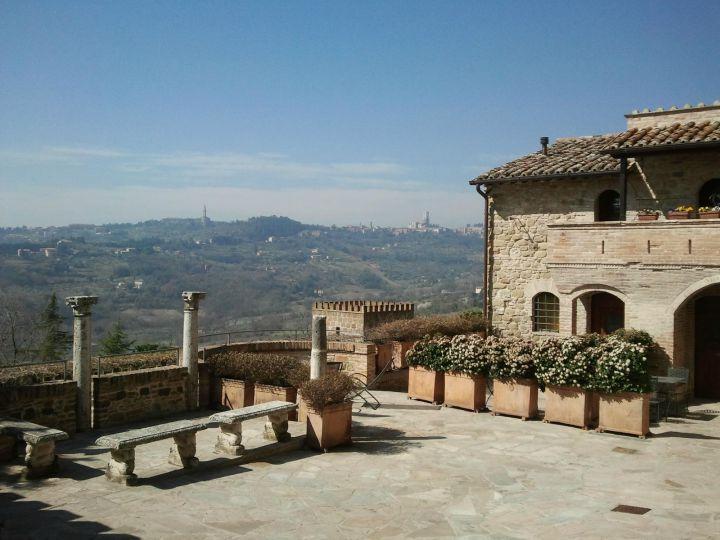 Castello di Monterone Perugia, Italy