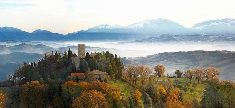 Castello di Petroia Gubbio, Italy