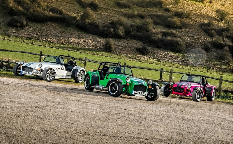 Caterham Cars has introduced three new additions to its existing range of iconic sportscars.