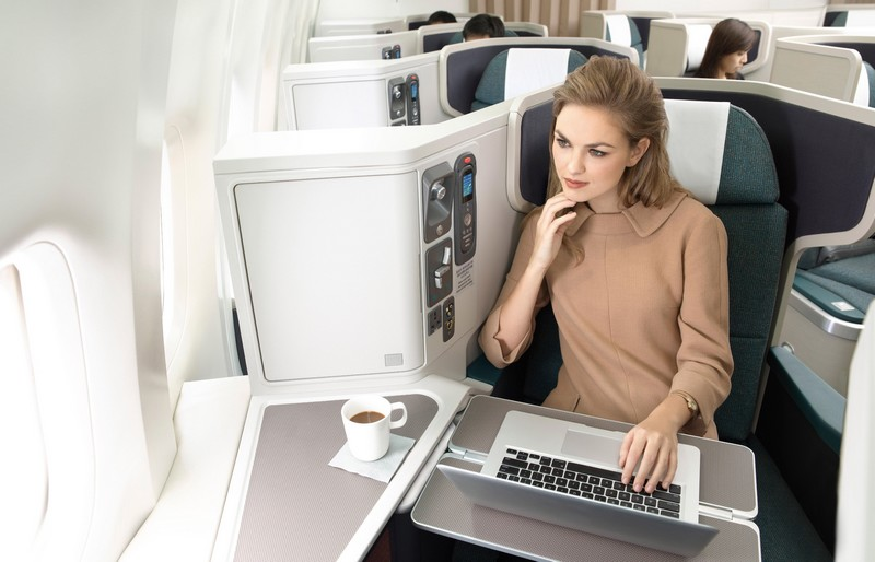 Cathay Pacific cabin