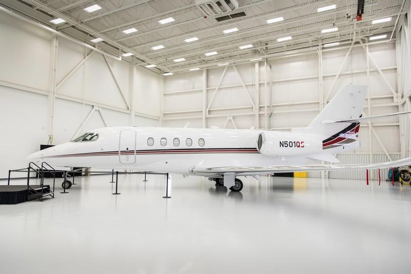 Cessna Aircraft delivers milestone 7,000th Citation Latitude midsize business jet -netjets-delivery-2016---