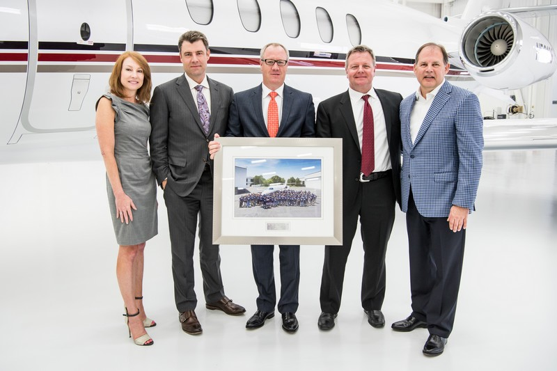Cessna Aircraft delivers milestone 7,000th Citation Latitude midsize business jet -netjets-delivery-2016