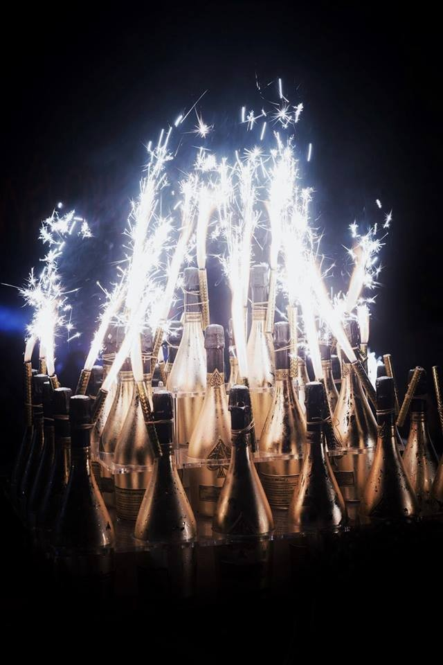 Champagne Armand de Brignac MIdnight in Monaco