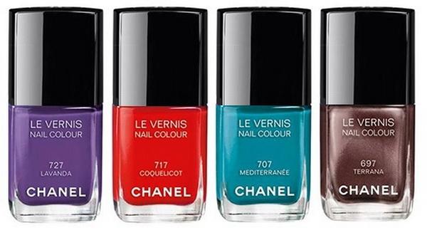 Chanel Méditerranée collection 2015 Spring Summer makeup-Le Vernis Nail Colour