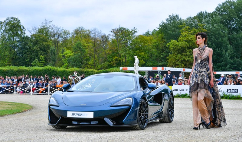 Chantilly Arts & Elegance 2016 - McLaren 570GT by MSO Concept revealed in Pacific Blue