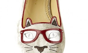 Charlotte Olympia's limited edition Klever Kitty