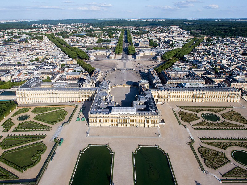 ChateauVersailles - aerial