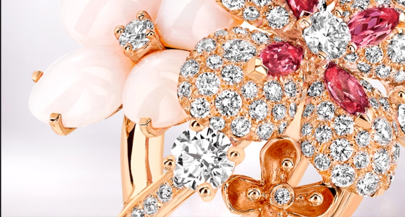 Chaumet Hortensia Collection ring  2015-details