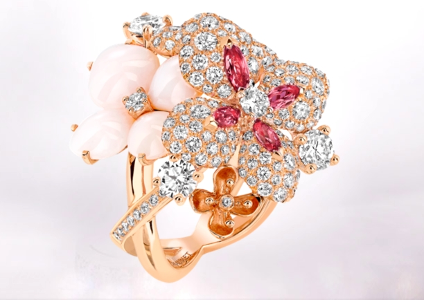 Chaumet Hortensia Collection ring  2015