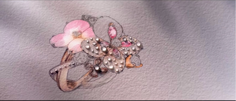 Chaumet Hortensia Collection video