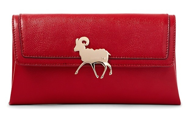 Chinese New Year 2015 The Year of The Goat clutch by DVF