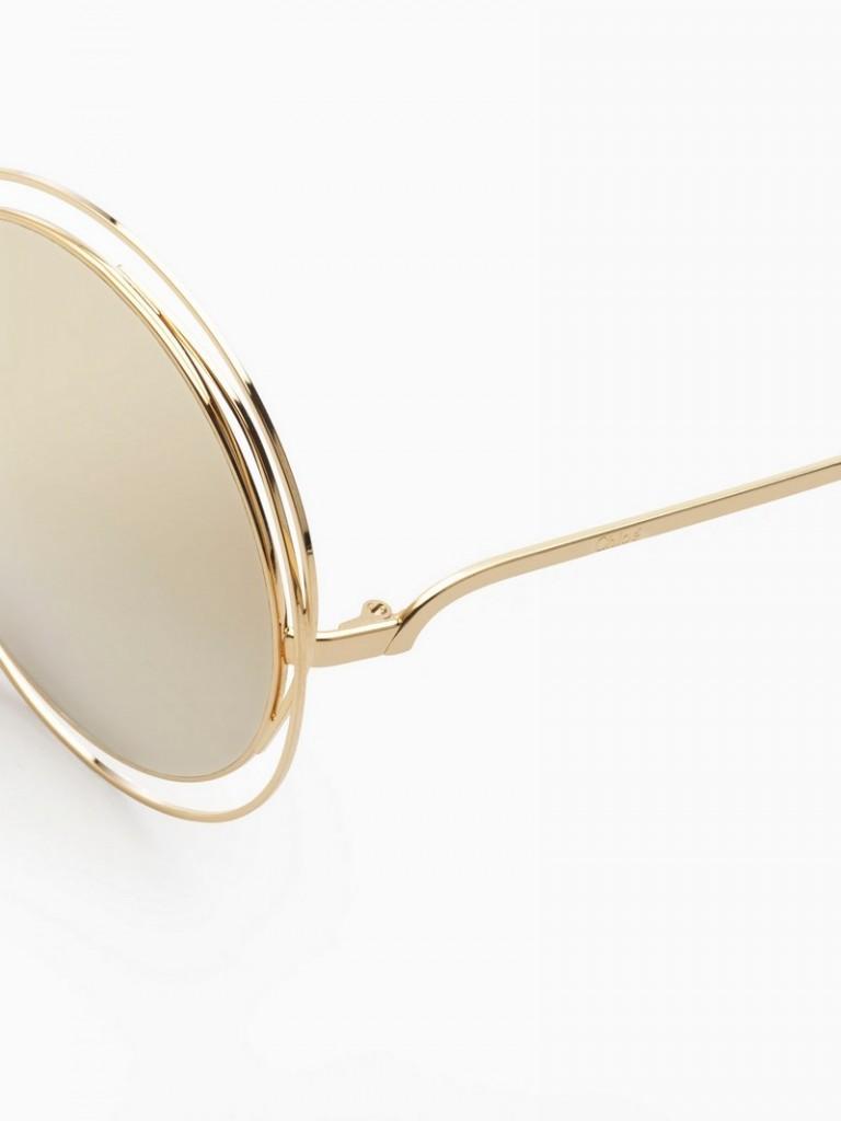 Chloe 2016 limited edition 18-karat gold Carlina sunglasses