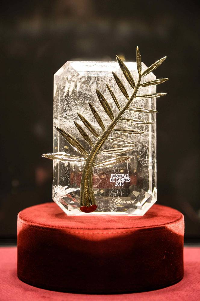Chopard Cannes Palme 2015