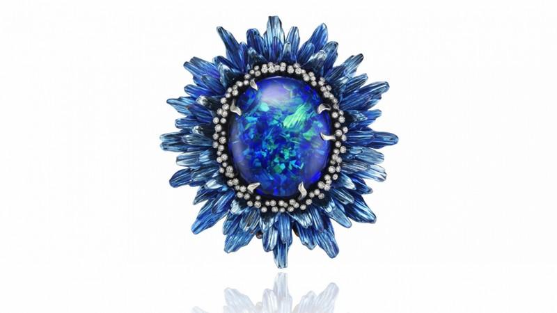 Chopard Fleurs d'Opale Haute Joaollerie Collection rings 2015-