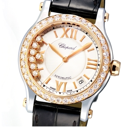 Chopard Happy Sport Medium Automatic Two Tone watch