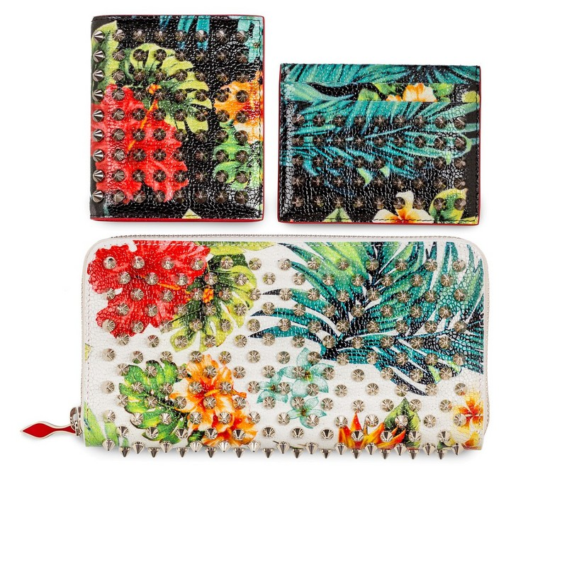 Christian Louboutin Aloha From Hawaii Kawai - Paros Billfold Wallet With Coin Pocket