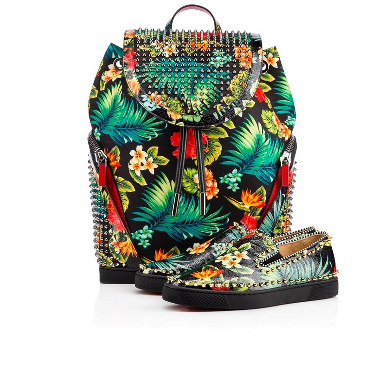 Christian Louboutin Aloha From Hawaii Kawai - Pik Boat Calf