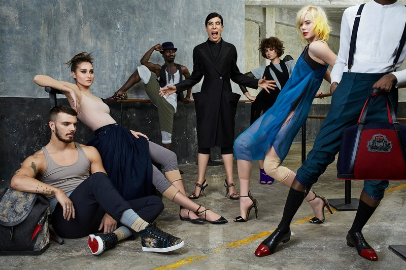 Christian Louboutin La Repetition movie -2016 Autum Winter Collection with Blanca Li - 2luxury2-