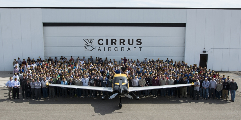 Cirrus 6000th Delivery
