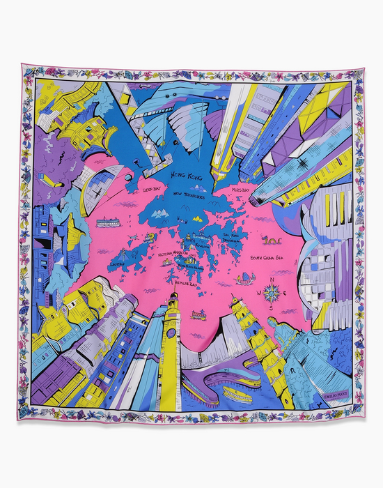 City of the World scarves collection