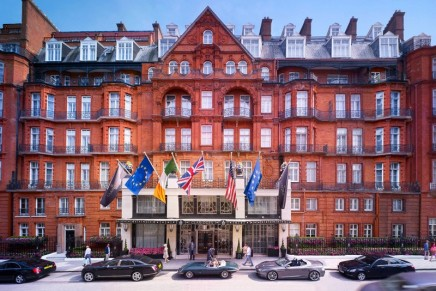Sir Jony Ive and Marc Newson to design this year's Christmas Tree at Claridge's London
