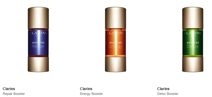 Clarins Repair Boosters 2016 collection