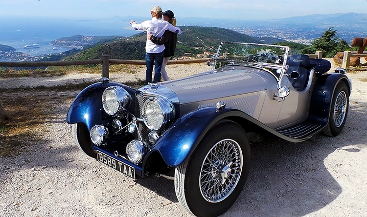 Classic La Riviera Car - Top Marques Monaco 2015 - 2luxury2