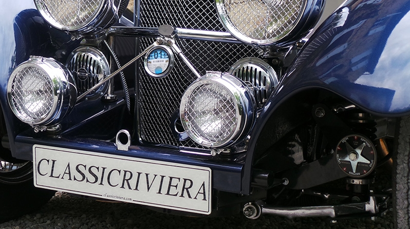 ClassicRiviera plate - Bespoke Car-limited edition