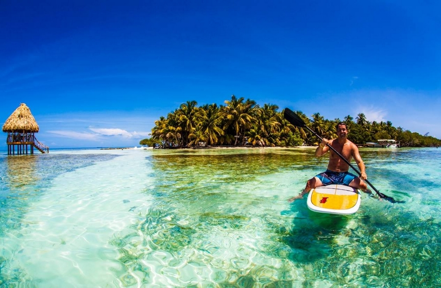 Clear waters and clear skies, just two of the beautiful sights Belize has for everyone!