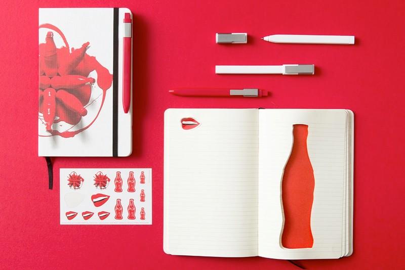 Coca-Cola bottle's 100th Anniversary on Moleskine notebook-2