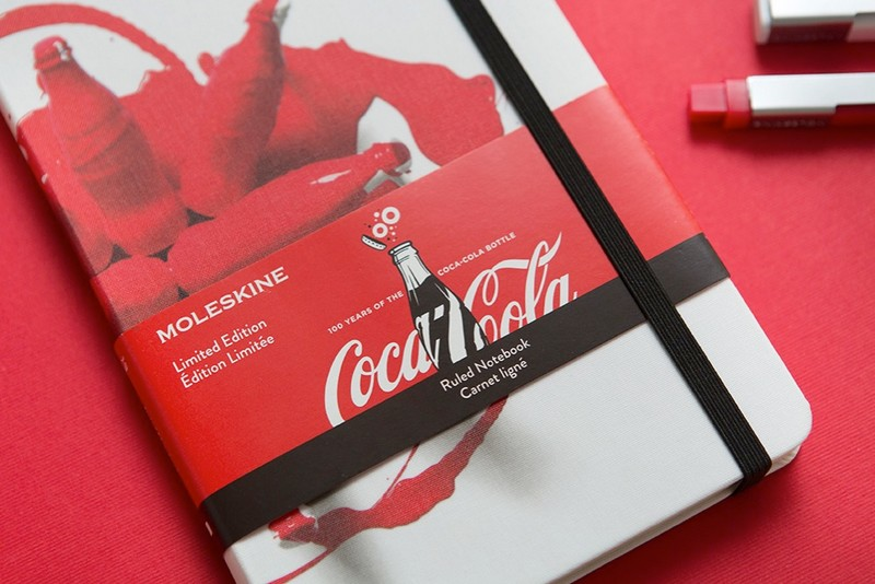 Coca-Cola bottle's 100th Anniversary on Moleskine notebook-3