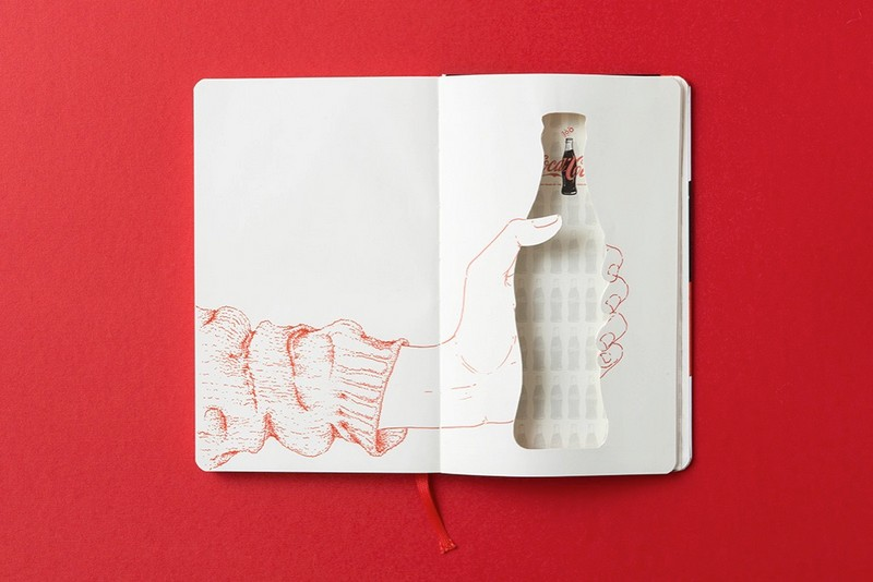 Coca-Cola bottle's 100th Anniversary on Moleskine notebook-4