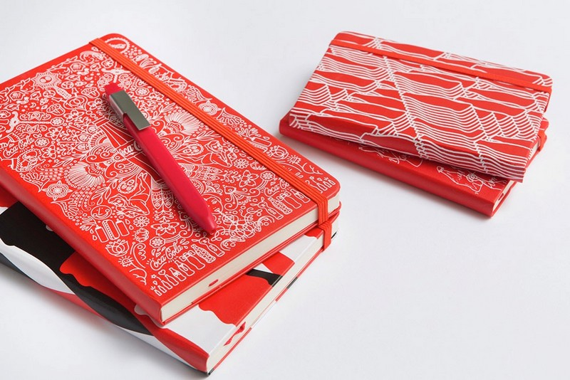 Coca-Cola bottle's 100th Anniversary on Moleskine notebook