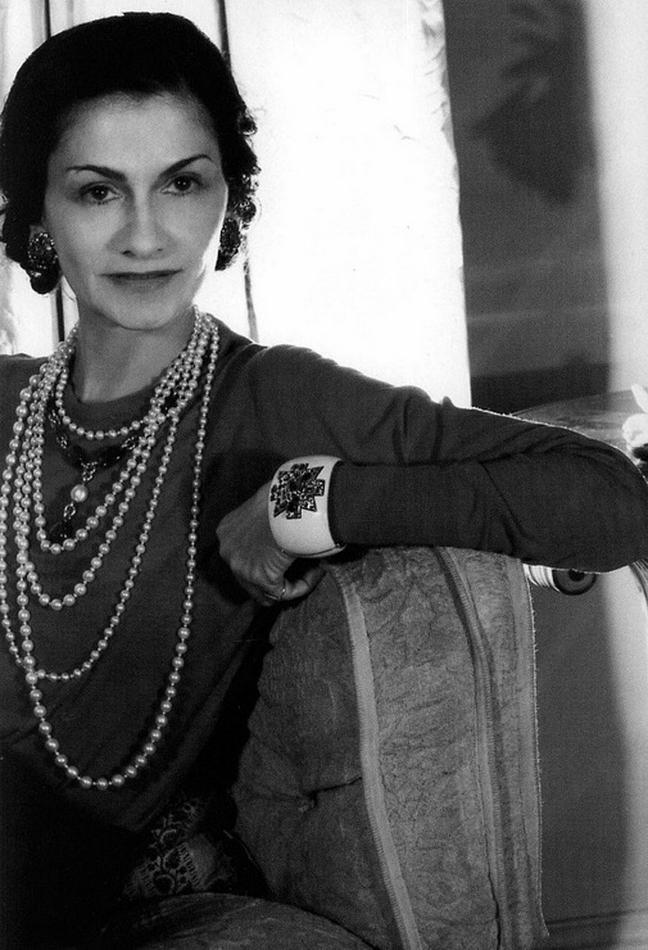 Coco Chanel historic photos-
