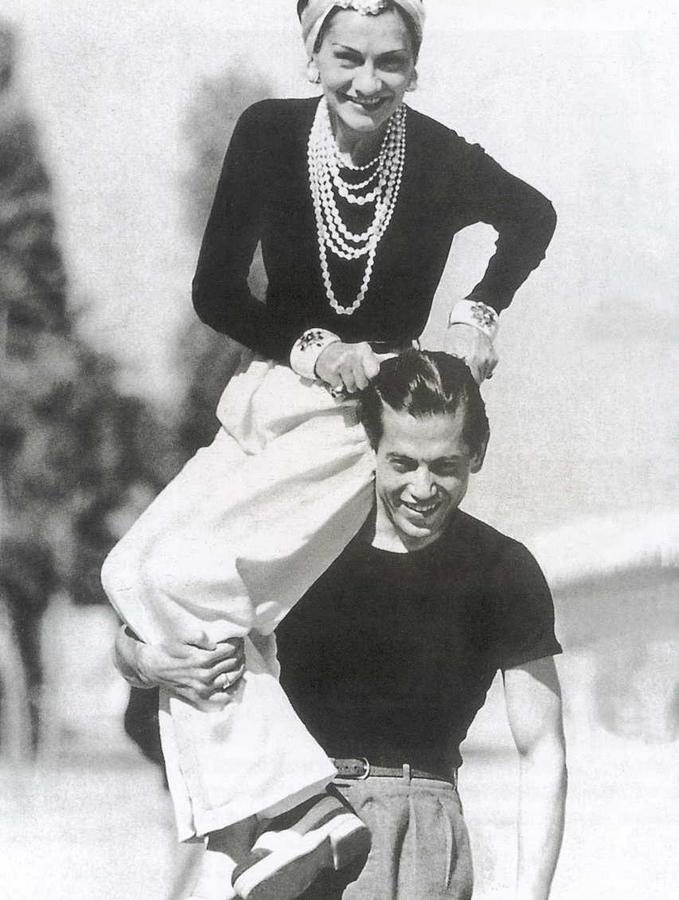 Coco Chanel historic photos