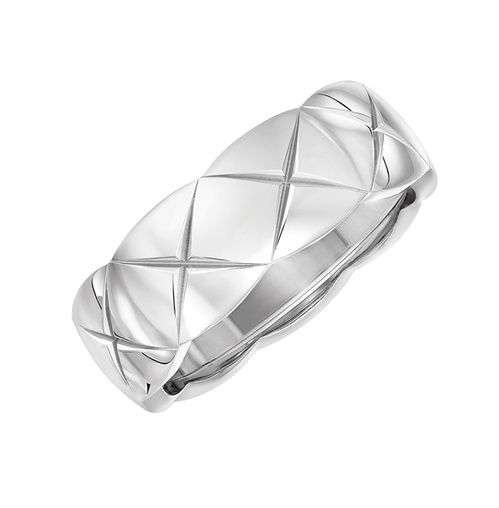 Coco Crush fine white gold ring from Chanel
