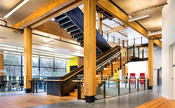 Commercial Wood Design Hugh Cochlin, Proscenium Architecture + Interiors