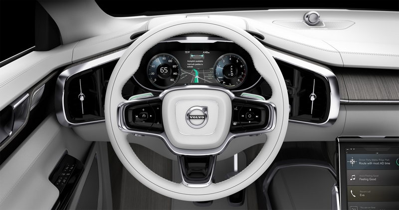 Concept 26 - Autonomous capable road available - driver offered to delegate driving to car